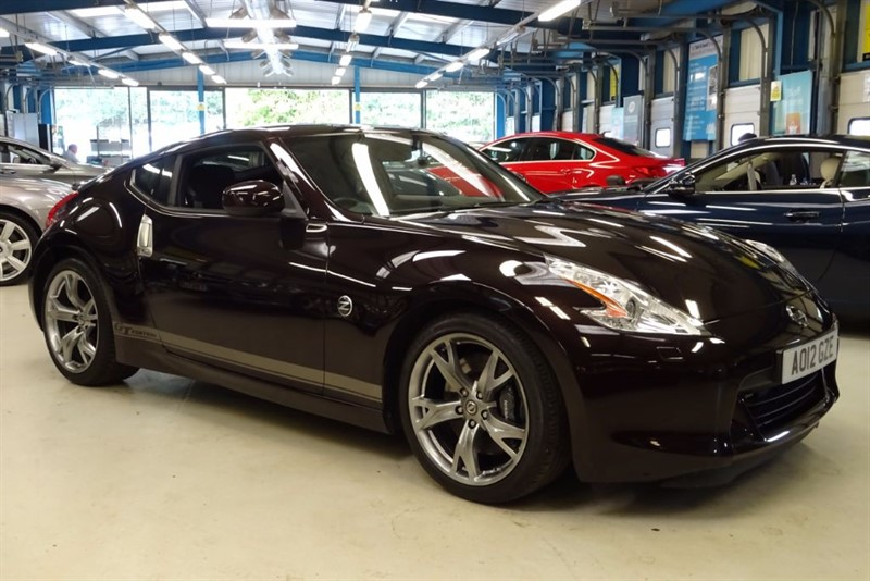 used Nissan 370Z V6 GT EDITION [NAV /LEATHER /BOSE/REAR CAMERA] in basingstoke-hampshire