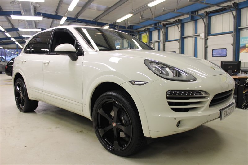 used Porsche Cayenne D V6 TIPTRONIC S [SAT NAV / 22''s / LEATHER] in basingstoke-hampshire