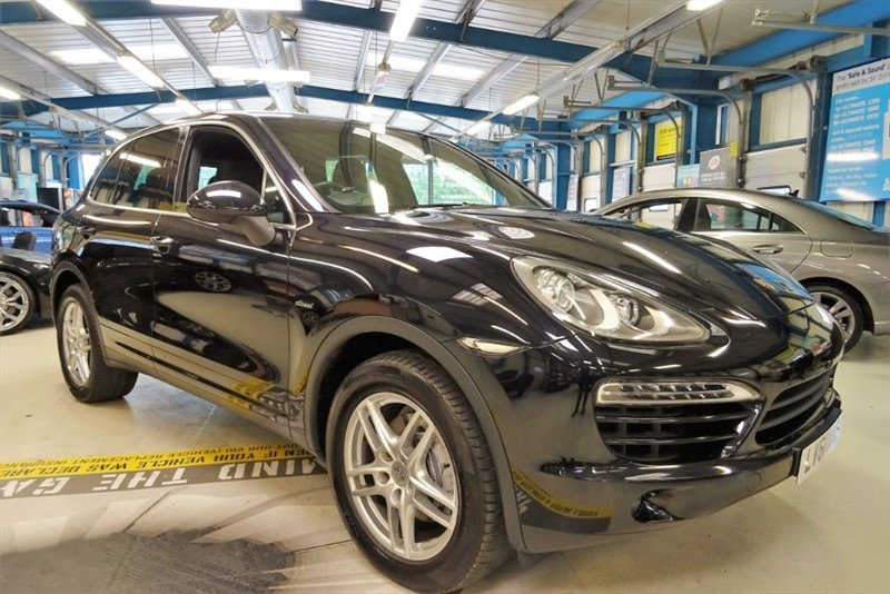 used Porsche Cayenne D V6 TIPTRONIC [1 OWNER/SAT NAV /BOSE SPEAKERS] in basingstoke-hampshire