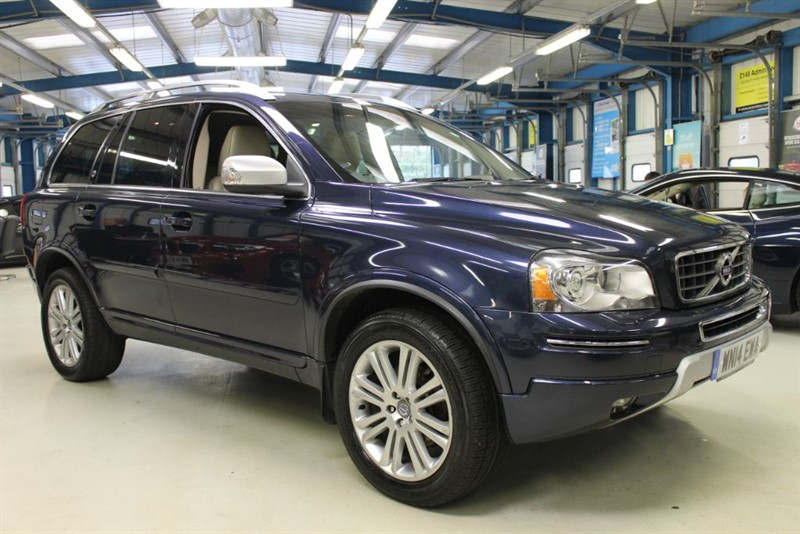 used Volvo XC90 D5 EXECUTIVE AWD [1 OWNER /NAV /LEATHER /7 SEATS] in basingstoke-hampshire