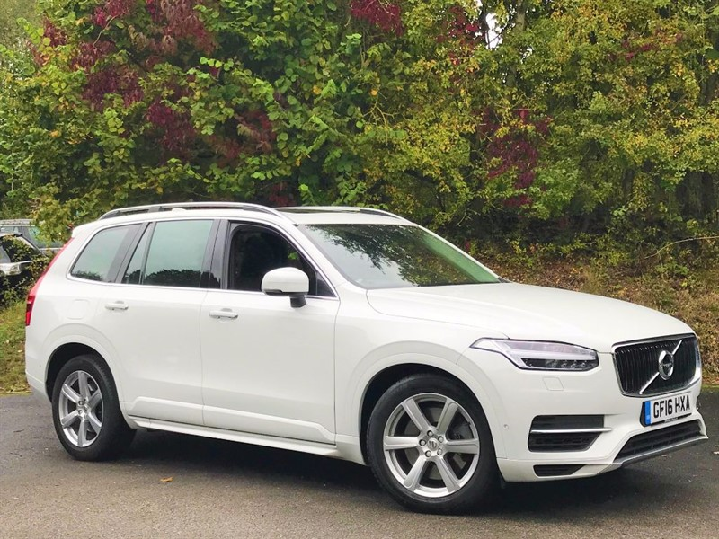 used Volvo XC90 T8 TWIN ENGINE MOMENTUM [NAV / PAN ROOF / 7 SEATS] in basingstoke-hampshire