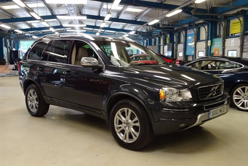 used Volvo XC90 D5 EXECUTIVE AWD [NAV / LEATHER / 7 SEAT] in basingstoke-hampshire