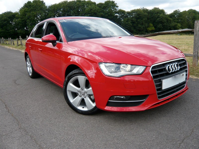 used Audi A3 TFSI SPORT S-TRONIC in epsom-surrey