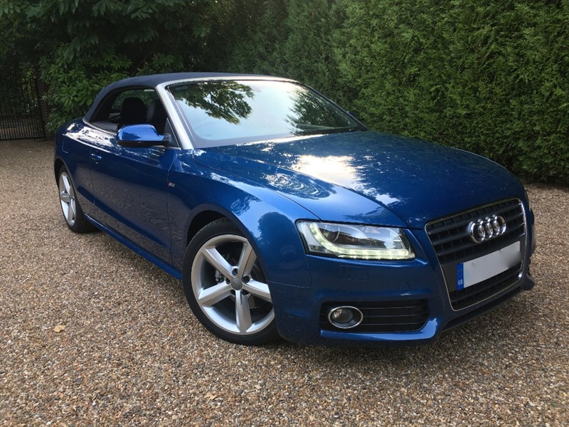 used Audi A5 S-Line Convertible in epsom-surrey