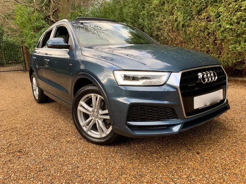 used Audi Q3 TFSI QUATTRO S LINE EDITION 180 in epsom-surrey