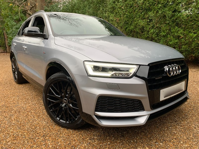 used Audi Q3 TFSI QUATTRO S LINE BLACK EDITION in epsom-surrey