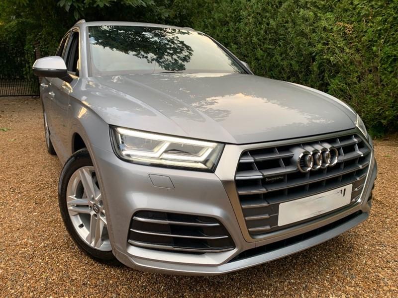 used Audi Q5 TDI QUATTRO S LINE in epsom-surrey