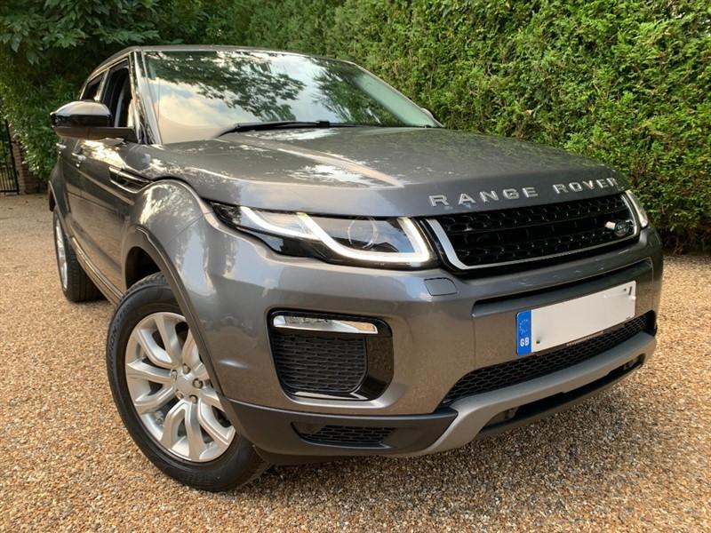 used Land Rover Range Rover Evoque TD4 SE TECH in epsom-surrey