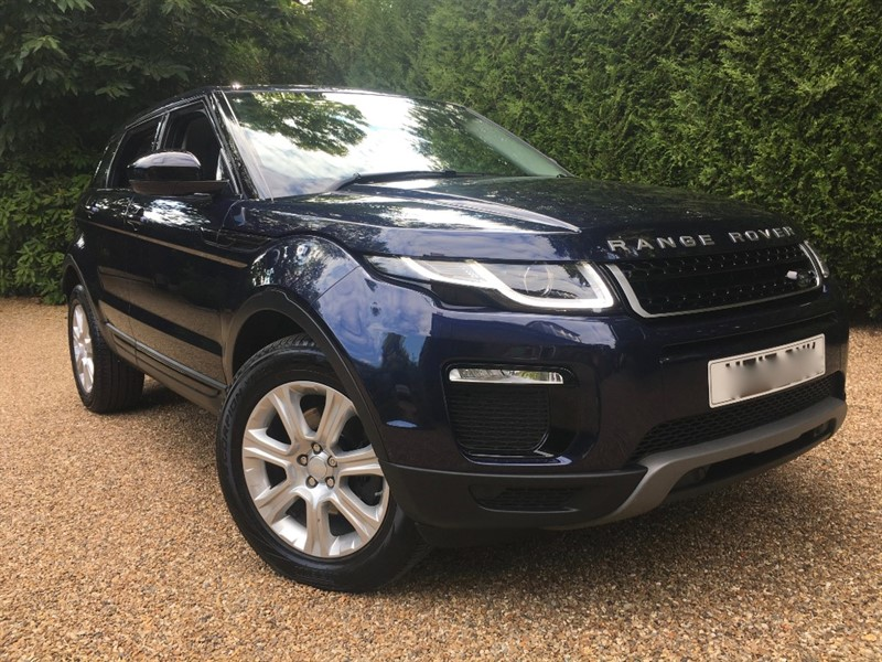 used Land Rover Range Rover Evoque TD4 SE TECH in epsom-surrey
