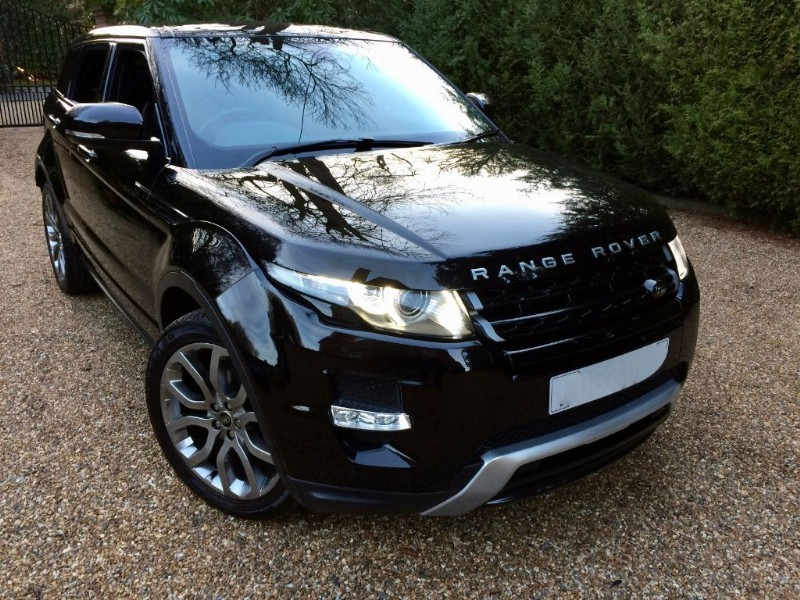 used Land Rover Range Rover Evoque SD4 DYNAMIC 4X4 in epsom-surrey