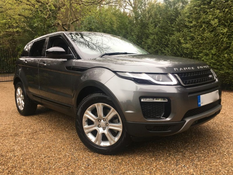 used Land Rover Range Rover Evoque TD4 SE TECH 180 4X4 in epsom-surrey