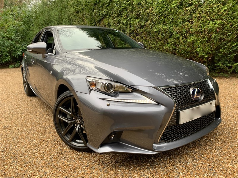 used Lexus IS 300h F SPORT Premium Leather and Sat Nav in epsom-surrey