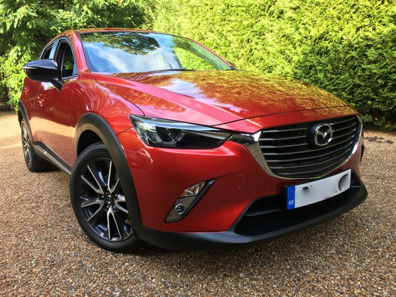 used Mazda CX-3 SPORT NAV 4X4 in epsom-surrey