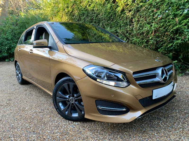 used Mercedes B220 D SPORT EXECUTIVE in epsom-surrey