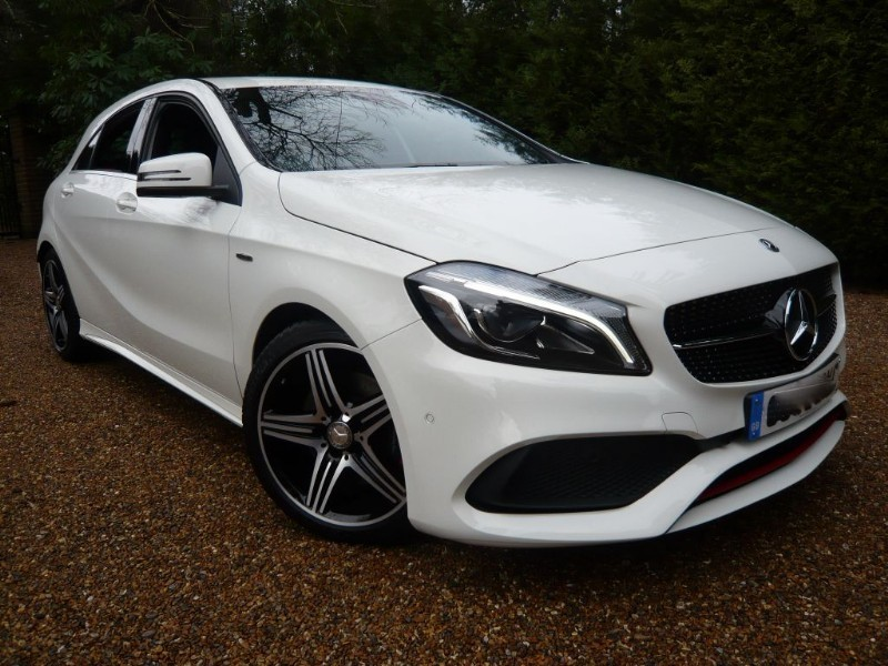 used Mercedes A250 AMG Sport in epsom-surrey