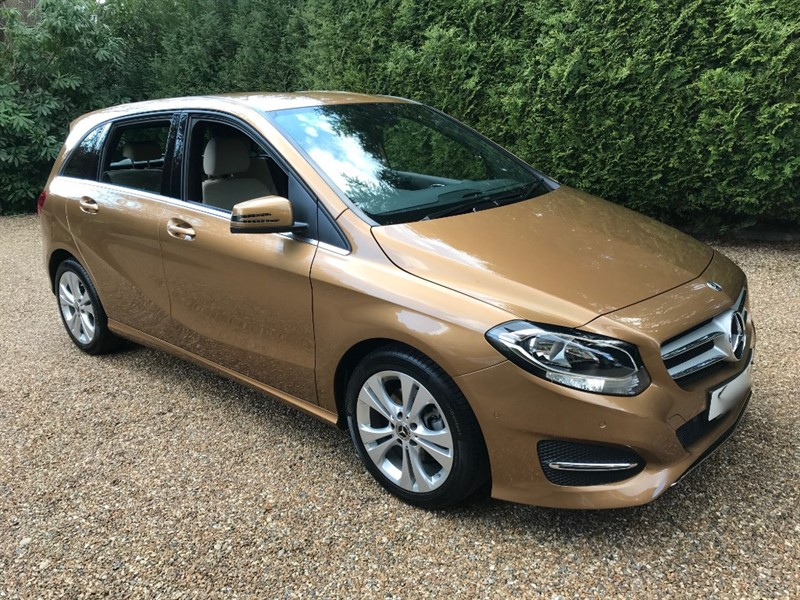 used Mercedes B220 Sport Executive in epsom-surrey