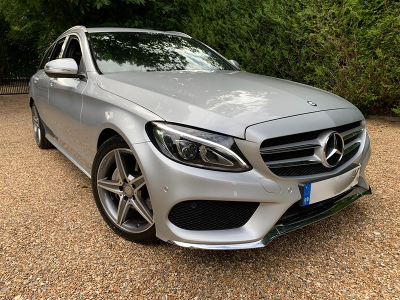 used Mercedes C200 AMG LINE in epsom-surrey