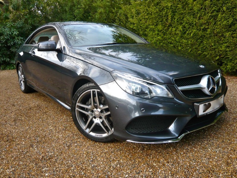 used Mercedes E220 BLUETEC AMG LINE in epsom-surrey