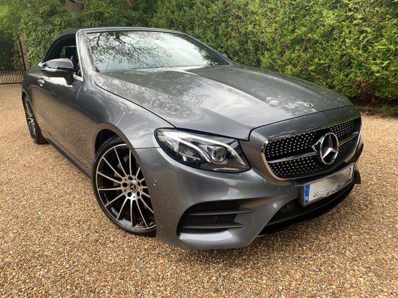 used Mercedes E220 D AMG LINE PREMIUM PLUS in epsom-surrey
