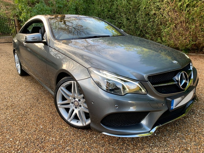 used Mercedes E220 D AMG LINE EDITION in epsom-surrey