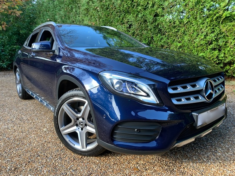 used Mercedes GLA220 D 4MATIC AMG LINE PREMIUM PLUS in epsom-surrey