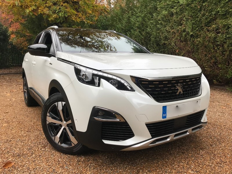 used Peugeot 3008 THP S/S GT LINE EAT6 in epsom-surrey