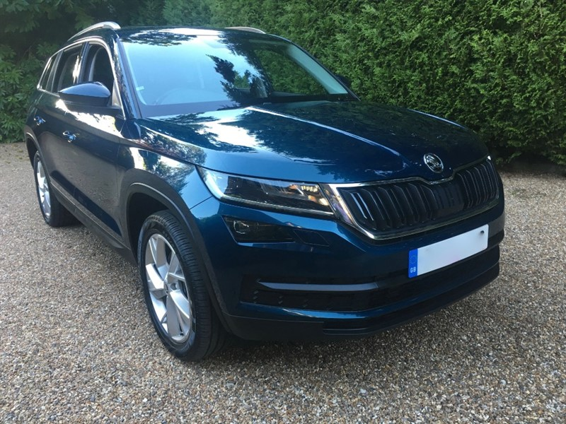 used Skoda Kodiaq EDITION TDI SCR 190 BHP 4X4 in epsom-surrey