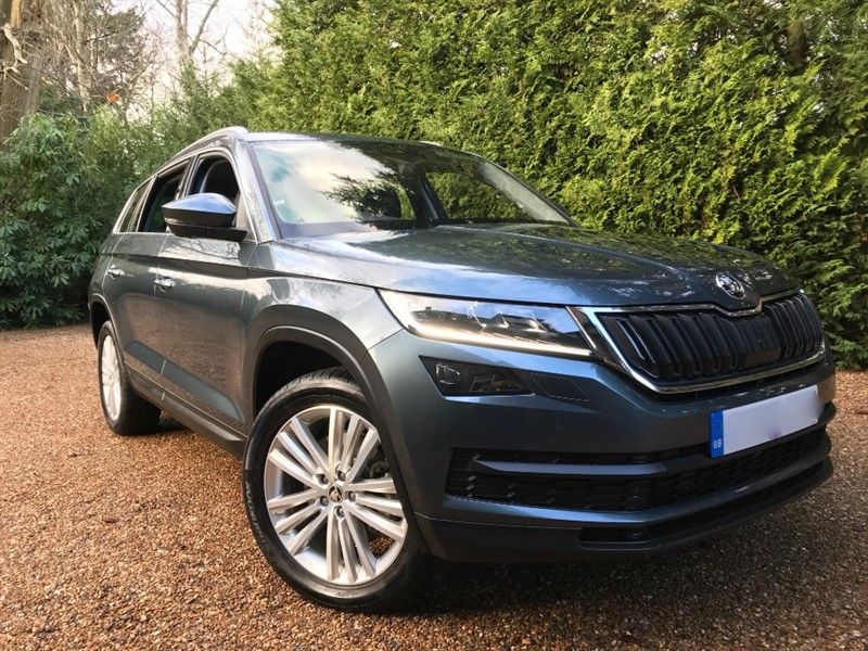 used Skoda Kodiaq EDITION TDI SCR DSG 4X4 190 BHP 7 Seats in epsom-surrey