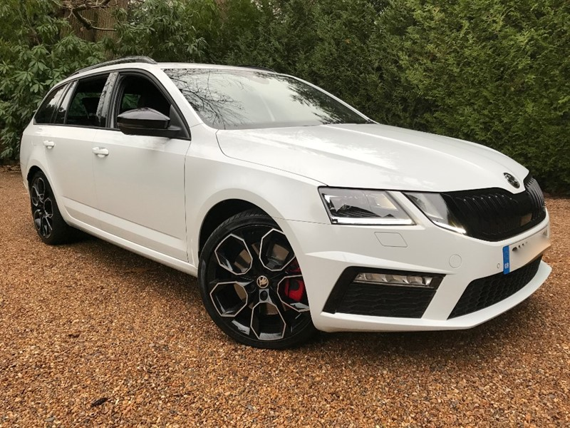 used Skoda Octavia VRS TSI Limited Edition 245 BHP in epsom-surrey