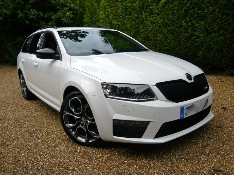 used Skoda Octavia VRS TDI CR 184 DSG in epsom-surrey