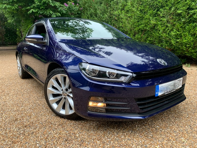 used VW Scirocco GT TSI BLUEMOTION TECHNOLOGY in epsom-surrey