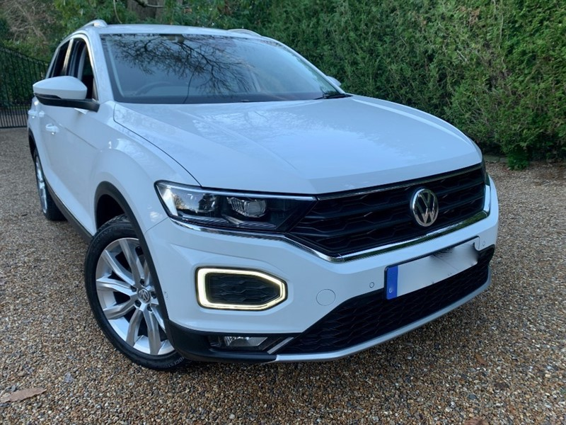 used VW T-Roc SEL TSI 4MOTION DSG in epsom-surrey