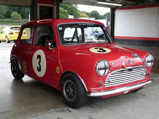 Austin Mini Cooper S Endix K Racecar