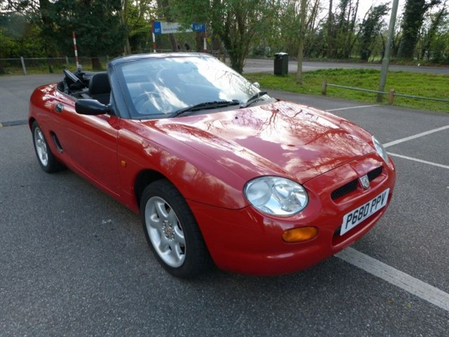 used MG MGF 1.8i Convertible (just 67,000miles)