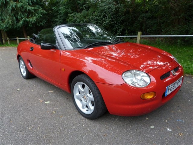 used MG MGF 1.8i Convertible + H/top (just 68,000miles)