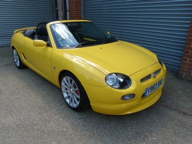 used MG MGF TROPHY 160vvc (just 5,900miles)