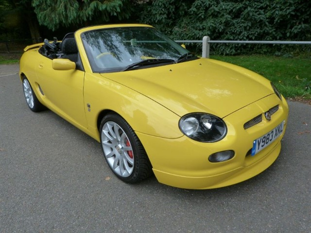 used MG MGF TROPHY 160vvc (just 6,009miles)The Best.