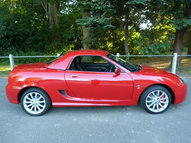 used MG MGF TF's,Very Low Mileage High Spec cars.