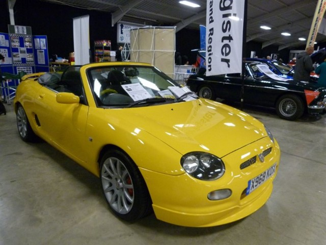 used MG MGF /TF's High spec's & very low mileages