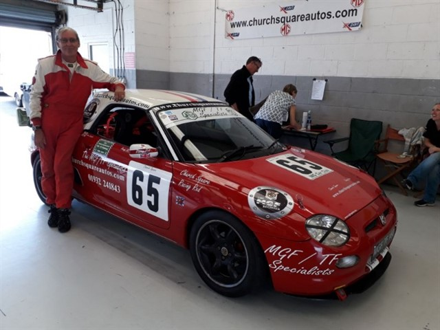 used MG MGF 160vvc 'Racing Red' is now for sale.
