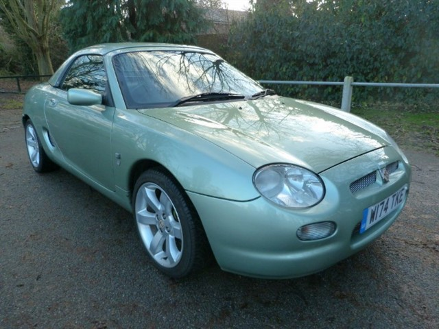 used MG MGF Stepspeed + Colour coded Hardtop