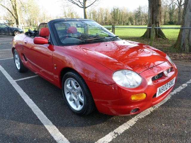used MG MGF TF's.Welcome to Church Square Autos