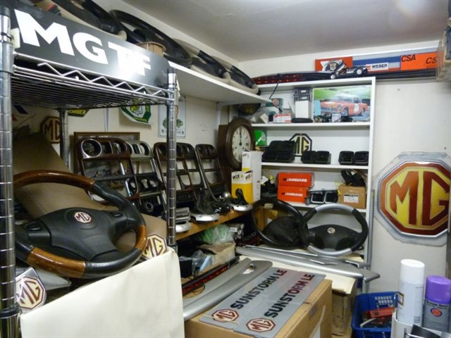 used MG MGF /TF & LE500.  Parts / Wheels & Accessories