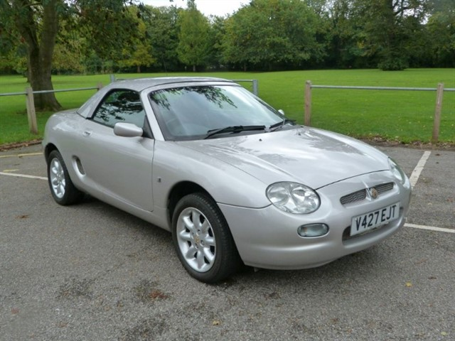 used MG MGF Convertible + H/Top, just 43,000 miles