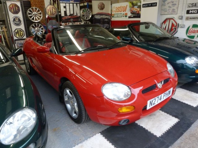 used MG MGF 1.8vvc. One owner, Only 10,500miles