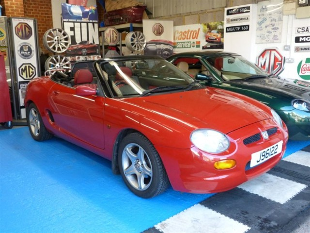 used MG MGF VVC, just 28,000miles