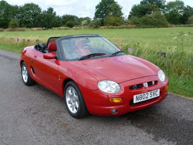 used MG MGF Our Press will be at MGF25,24th July
