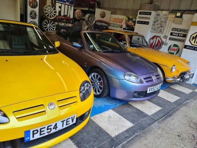 used MG MGF .We have stock changing daily