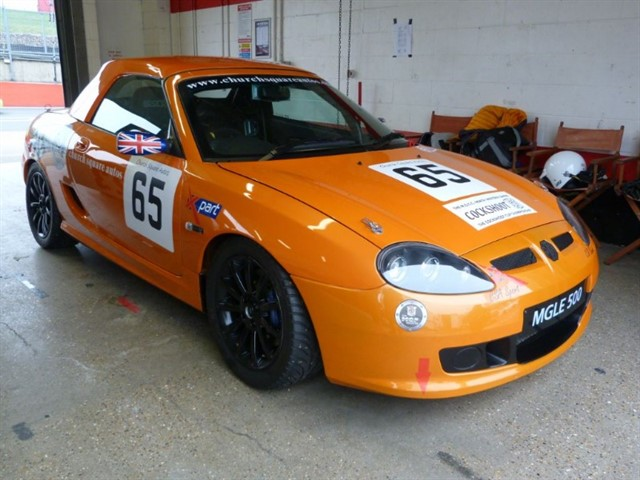 used MG TF LE500 Ex trophy racecar. SALE PRICE