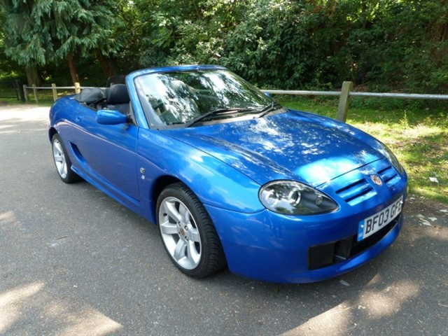 used MG TF 135 High spec( low mileage just 25,400 miles)